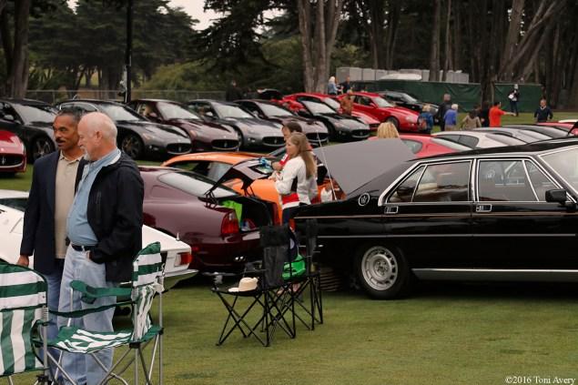 Concorso Italiano Maseratis