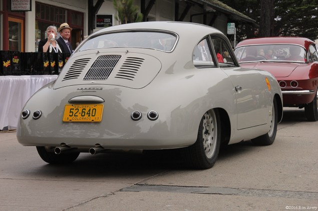 Concours on the Avenue 1963 Porsche outlaw rear
