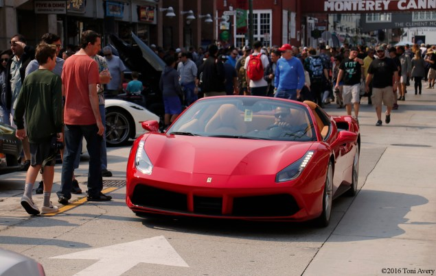 Exotics on Cannery Row Ferrari 488 GTGB