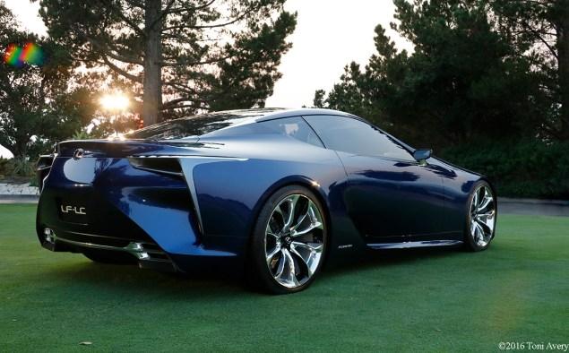 Lexus LF-LC Concept rear