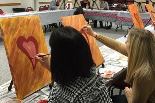 Social Artini Painting Party