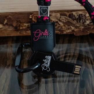 USB Stick Schlüssel mit Schlüsselband