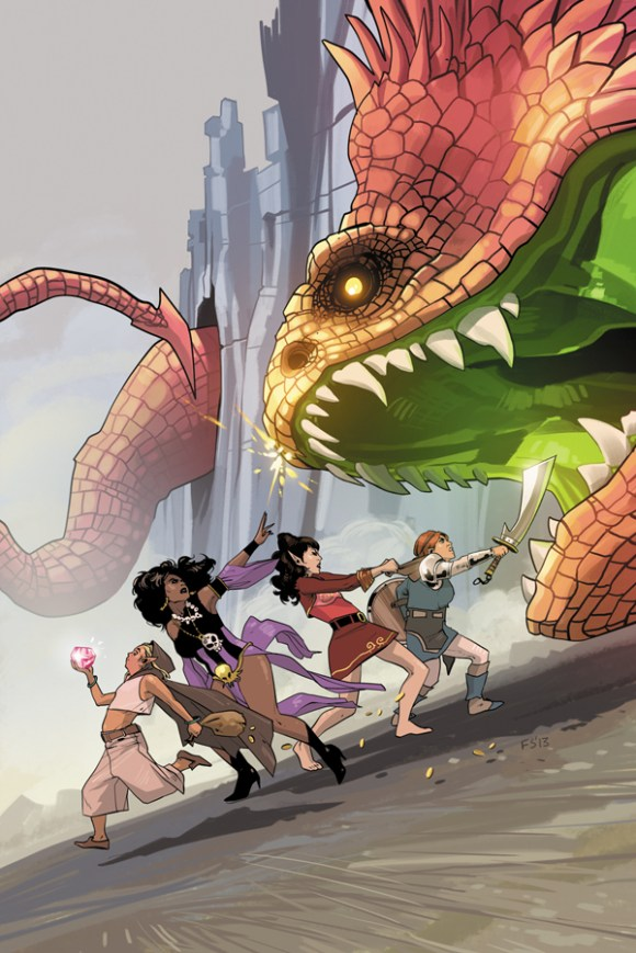 Rat Queens by Kurtis Wiebe, Meg Dejmal, Roc Upchurch
