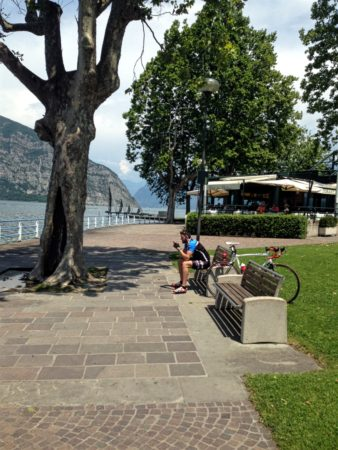 Lake Iseo in Iseo