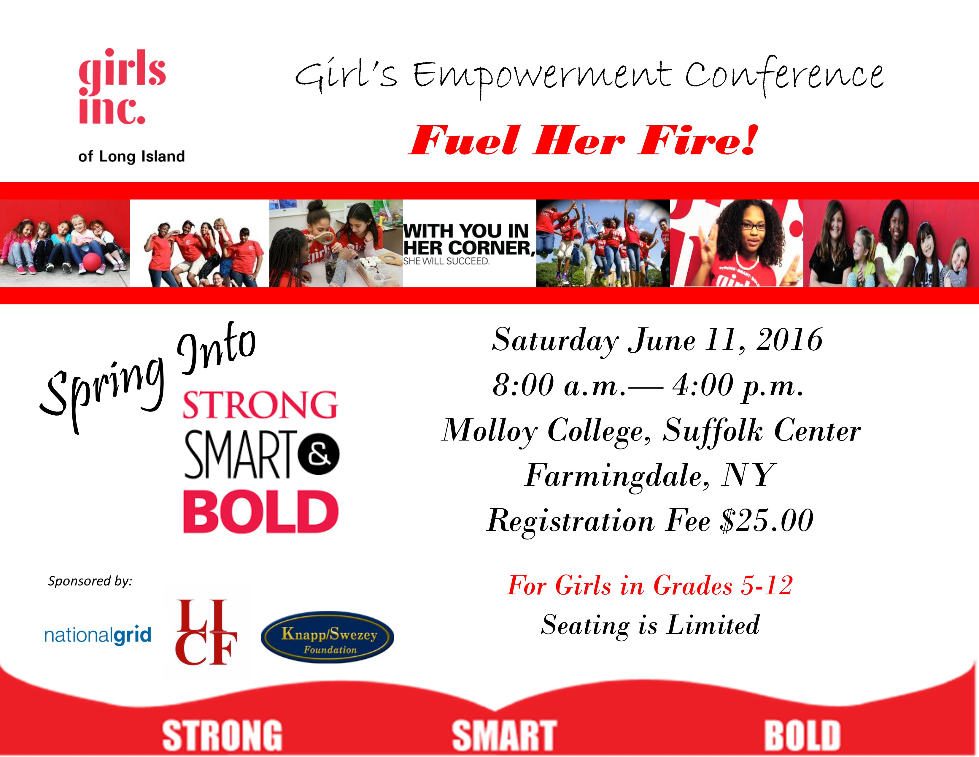 Girls Conference 2016 Half Page Flier
