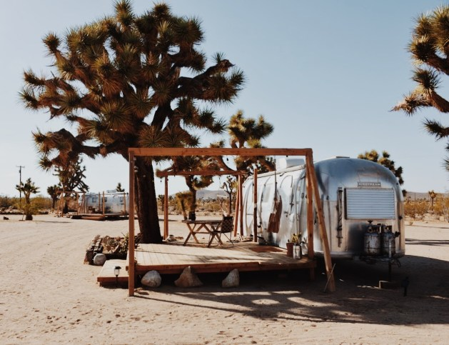 airstream Joshua tree