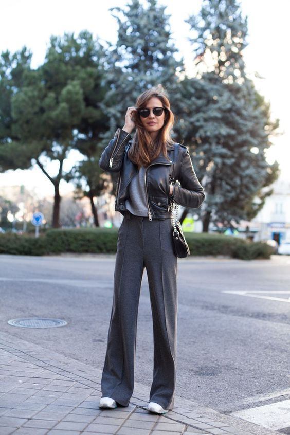 Wide leg pants women