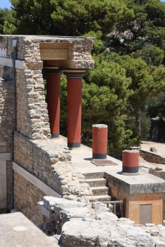 Entrada Norte, Palácio de Knossos, Creta