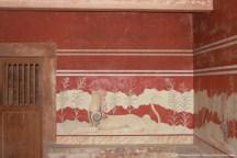 Fresco dos Grifos, Sala do Trono, Palácio de Knossos, Creta
