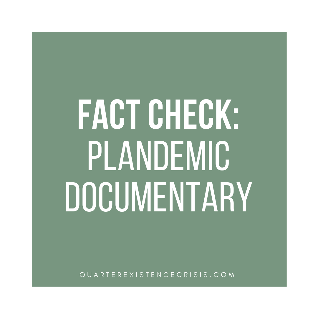 plandemic documentary fact check