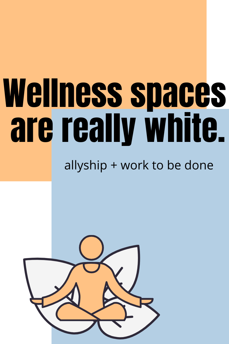 wellness is really white
