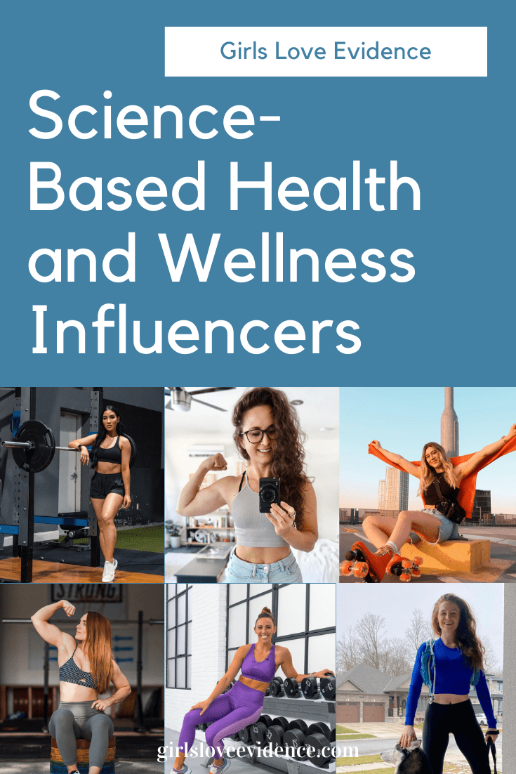 science-based health and fitness influencers
