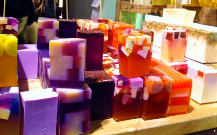 オシャレでかわいいオーガニック石鹸ブランド