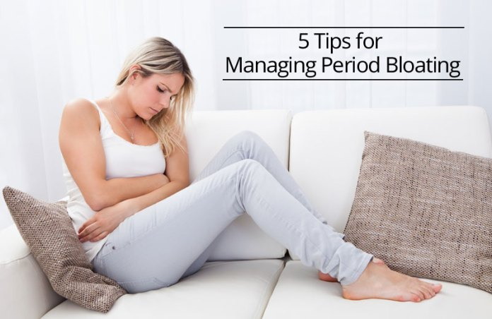 5 Tips for Managing bloating of the stomach on period