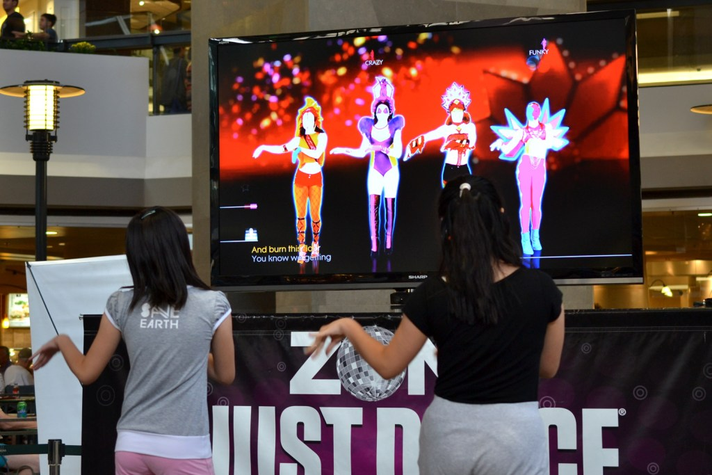 Playing Just Dance