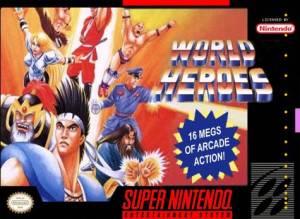 WORLD HEROES SNES