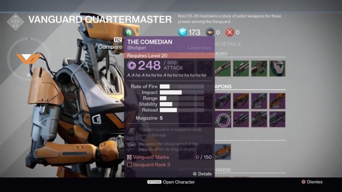 Destiny Gear Stat - Image via giantbomb.com
