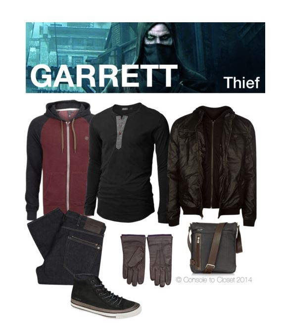 Garret (Thief) Inspired Outfit by console-to-closet on Polyvore