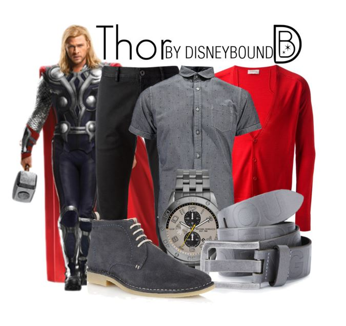 Thor inspired outfit by leslieakay on Polyvore