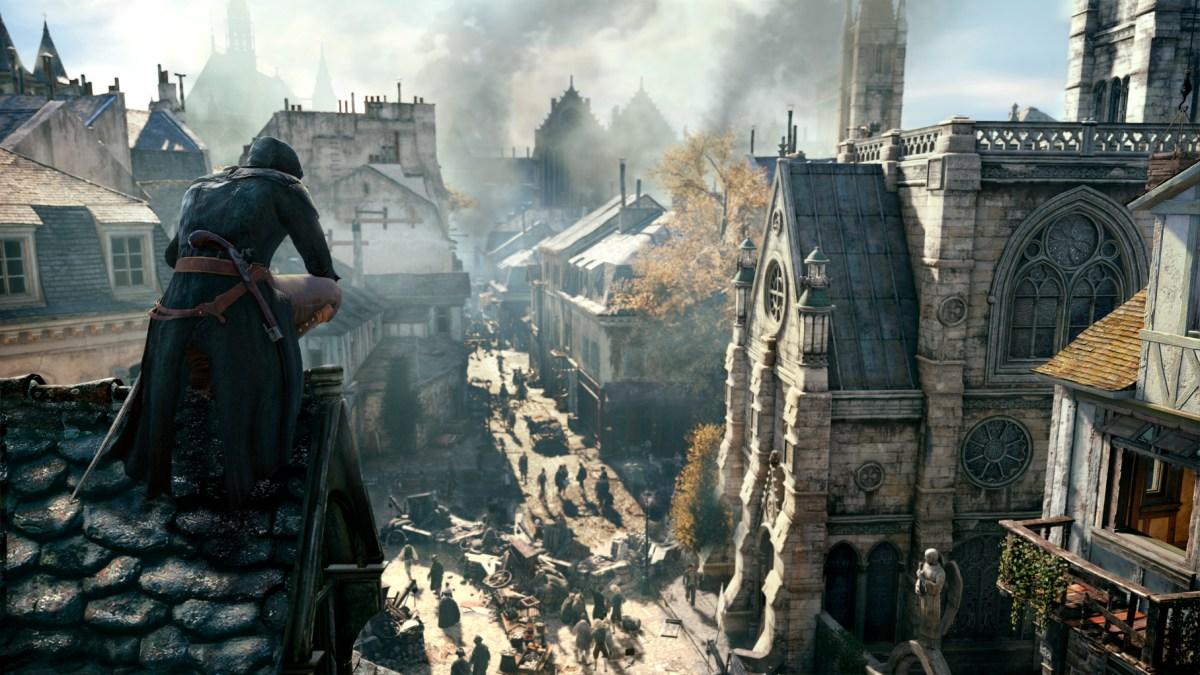 Paris Rooftop - Assassin's Creed Unity Screenshot © Ubisoft