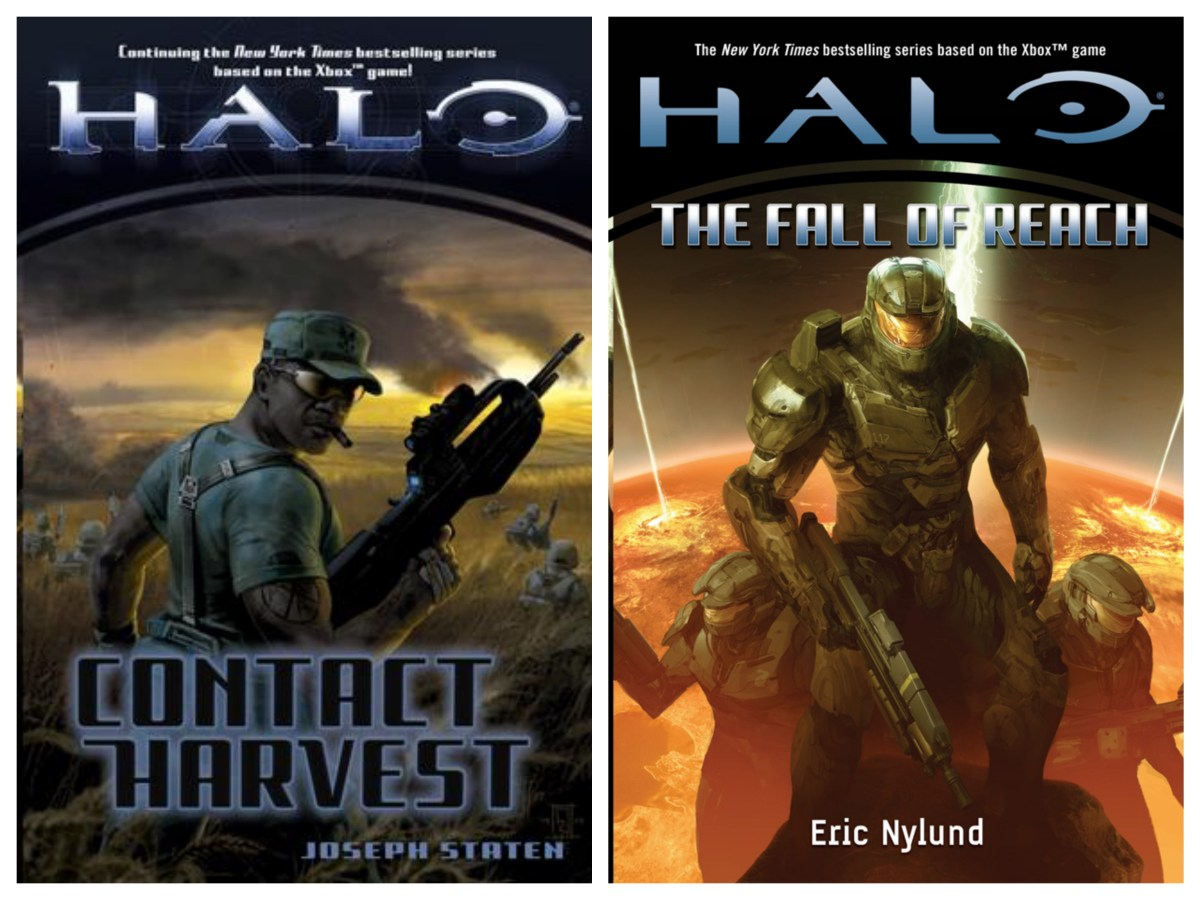 Halo Book Collage