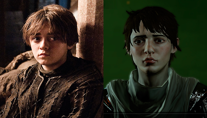 Arya Stark from Game of Thrones Inquisitor.