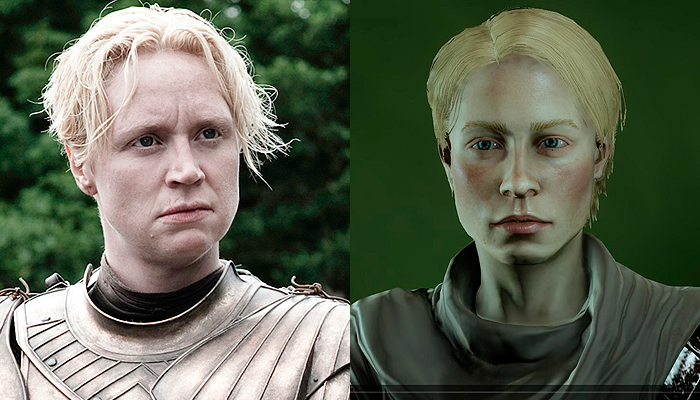 Brienne of Tarth from Game of Thrones Inquisitor.