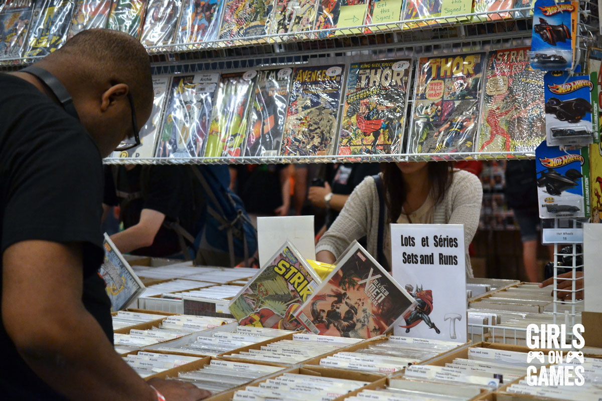 Comic Hunter at Montreal Comiccon 2015