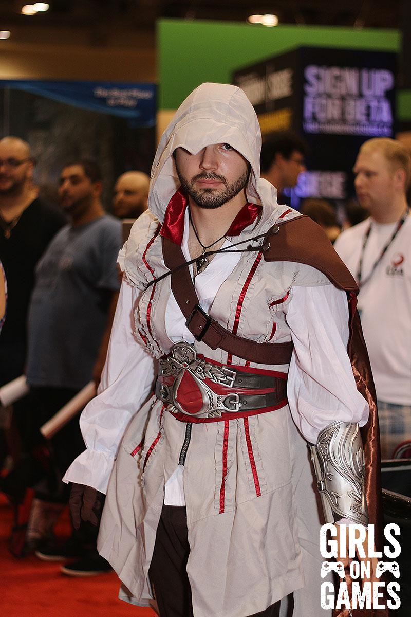 Ezio cosplay at Fan Expo 2015