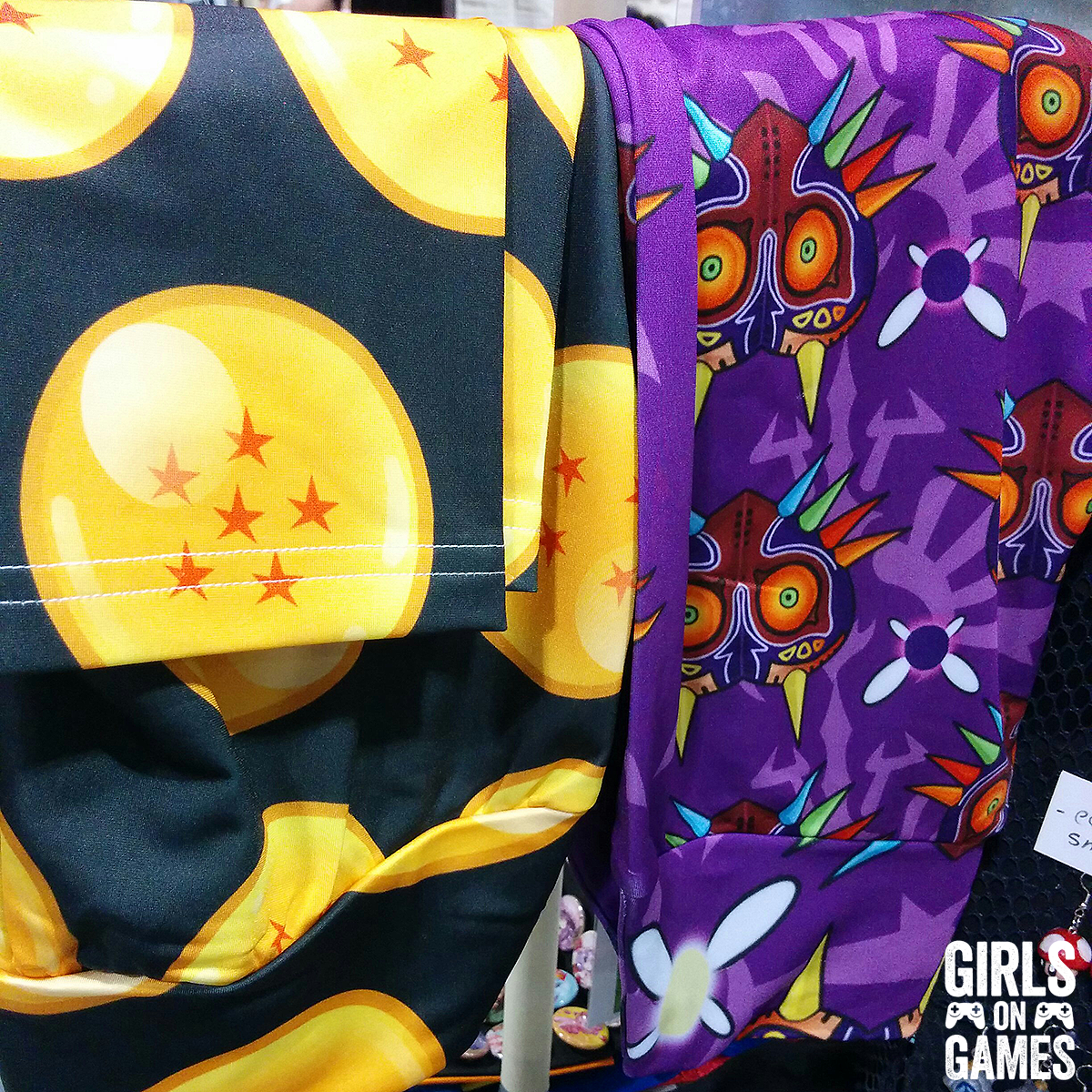 Dragonball and Majora's Mask Leggings