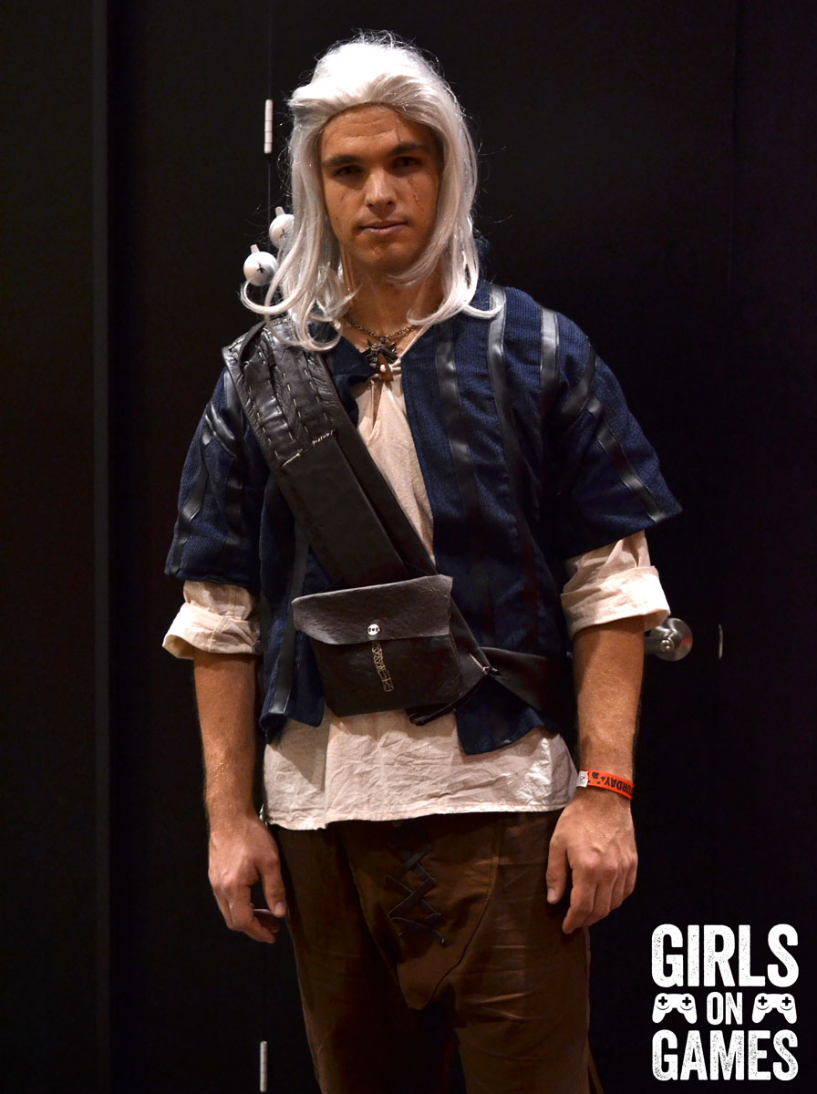 Geralt of Rivia cosplay at Fan Expo 2015