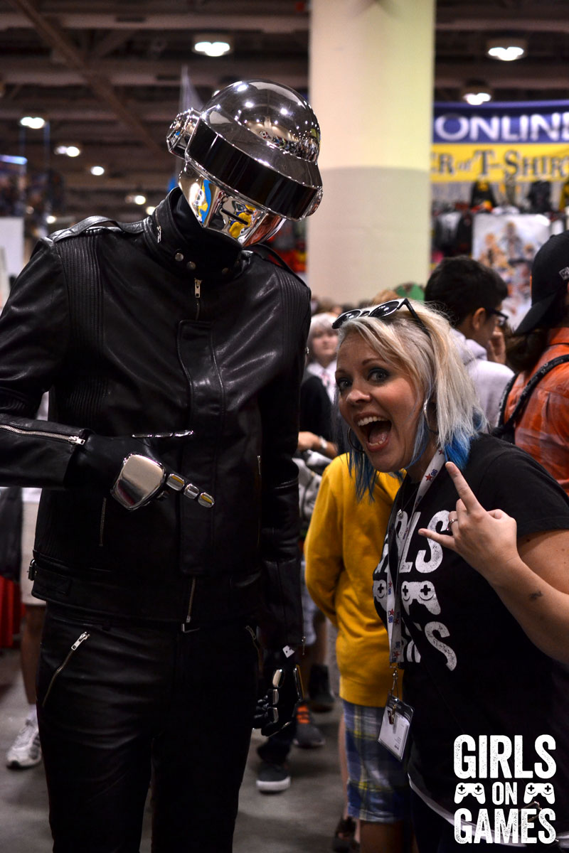 Daft Punk cosplay at Fan Expo 2015