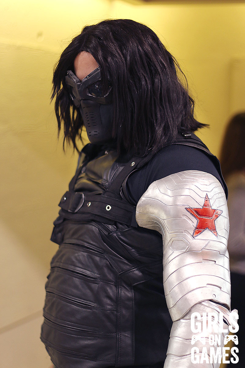 Winter Soldier cosplay at Fan Expo 2015