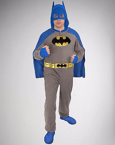Batman Hooded & Caped Adult Onesie