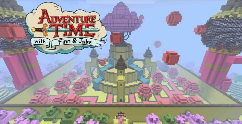 Adventure Time Adventure Map
