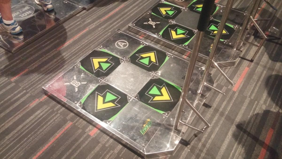 The DDR mats!