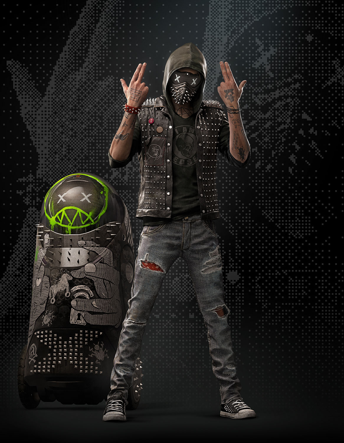 Wrench from Watch Dogs 2. Image from Ubisoft.
