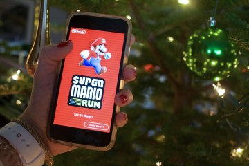 Super Mario Run. Photo by Leah Jewer / Girls on Games