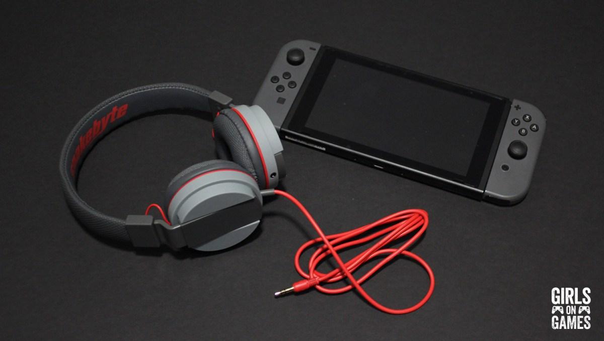 Snakebyte Nintendo Switch Head:Phones