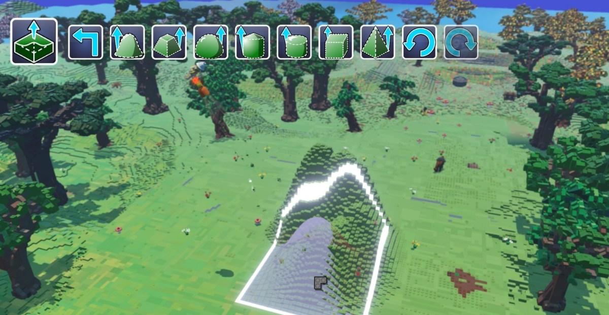 Lego Worlds Build Tool © LEGO