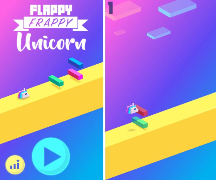 Flappy Frappy Unicorn
