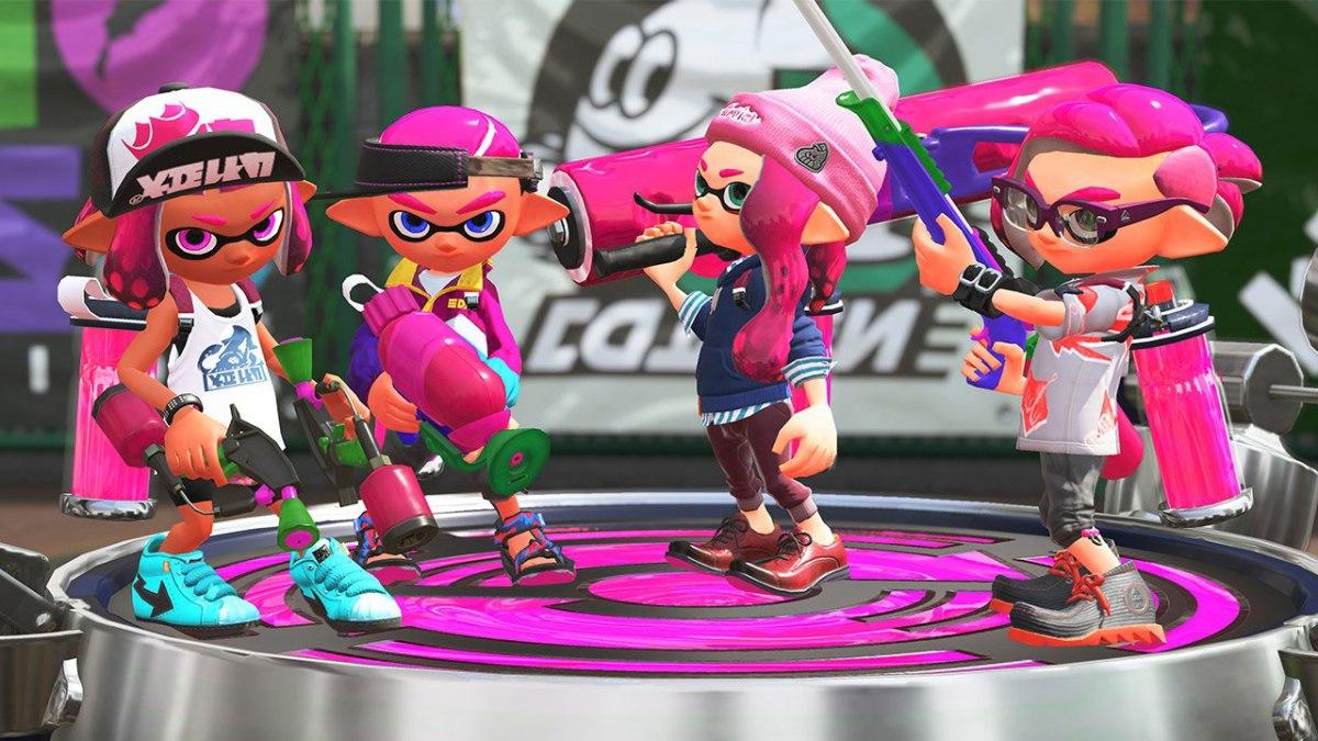 Splatoon 2 Inkling Team. From Nintendo