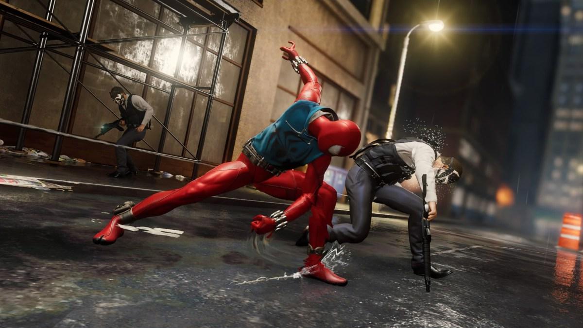 Spider-Man combat