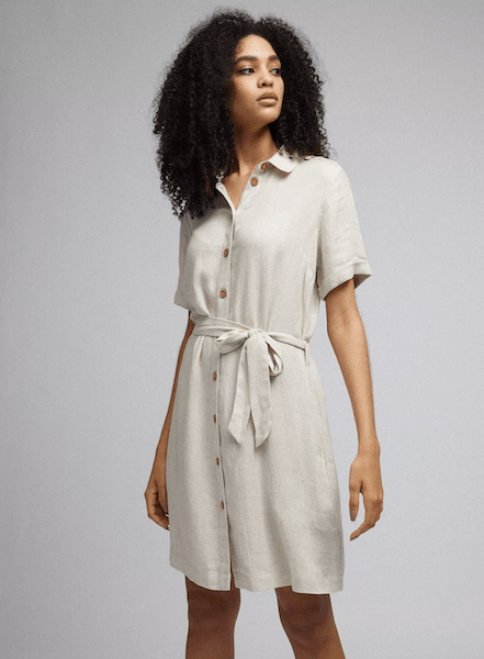 Linen shirt dress lores