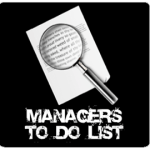 Managers to do Icon