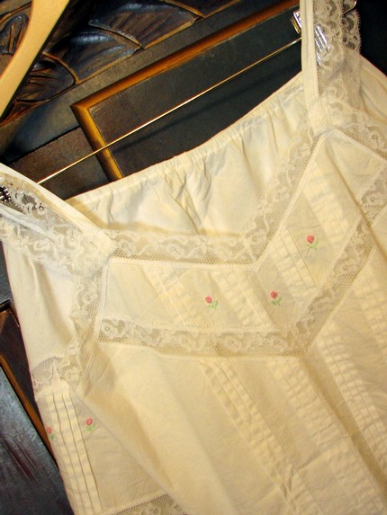 Vintage Eve Stillman Cotton Camisole and Pants