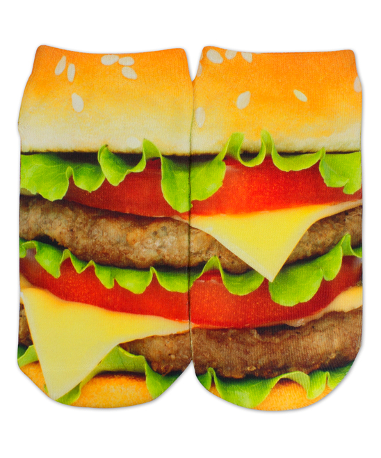 Your Burger Socks Are Making Me Hungry.
