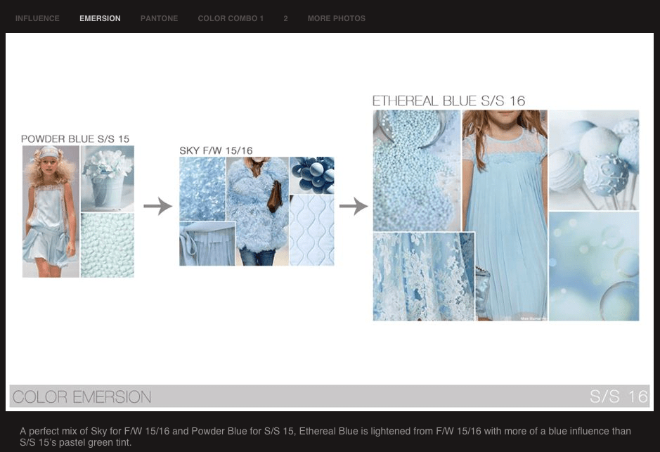 COLOR TREND ALERT:  SKY BLUE  Fall/Winter '15-16