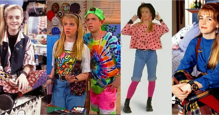 Girls Fashion From the 90's – Look at those JEANS!!!