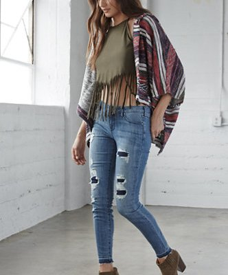The Top Denim Trends for Juniors Back to School 2015  #BTS